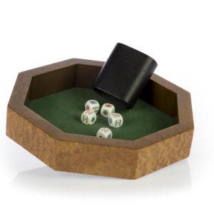 Pista gioco poker in radica Pomelè