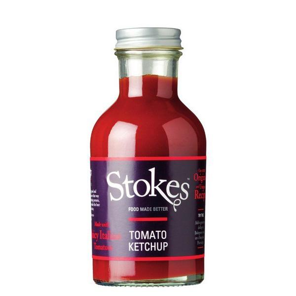 Tomato Ketchup Real 300 g - Stokes