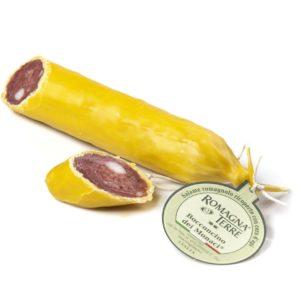 Salamino romagnolo ricoperto con cera d'api 180 g