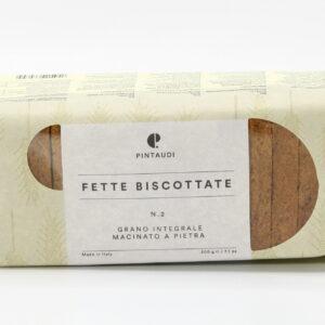 Fette Biscottate n.2 - Grano Integrale Macinato a Pietra 200 g - Pintaudi