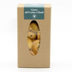 Biscotti con uvetta e pinoli 250 g