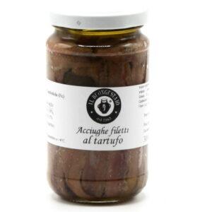 Filetti di Acciughe al Tartufo 200 g