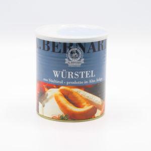 Wurstel affumicati dell'Alto Adige 8 pezzi da 400 g