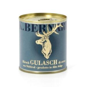 Gulasch di Cervo dell'Alto Adige pronto solo da scaldare