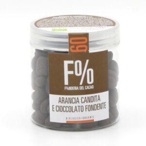 Dragées Cioccolato Fondente e Arancia Bio 150 g