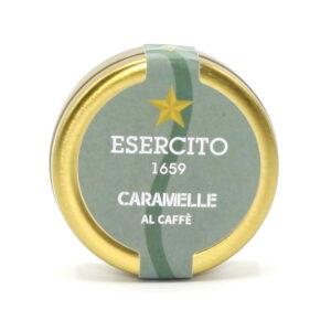 Caramelle al Caffè 50 g - Cioccolato Militare