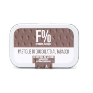 Cioccolatini Fondenti Extra Aromatizzati al Tabacco cacao min. 70% 60 g - Cioccolato Militare