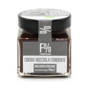 Crema Spalmabile Fondente al Cacao e Nocciole Bio 150 g