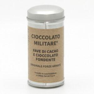 Fave di Cacao Ricoperte di Cioccolato 80 g - Cioccolato Militare