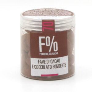 Dragées Cioccolato Fondente e Fave di Cacao Bio 150 g