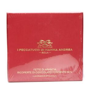 Fette d'Arancia Ricoperte di Cioccolato Fondente 95 g