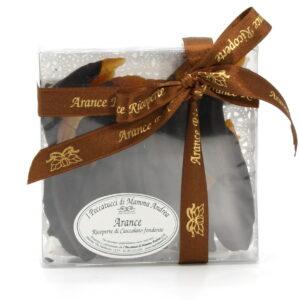 Scorzette d'Arancia Ricoperte di Cioccolato Fondente 200 g