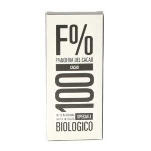 Tavoletta Cioccolato 100% Biologico 50 g