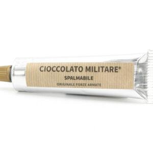 Crema Spalmabile Fondente alla Nocciola 90 g - Cioccolato Militare