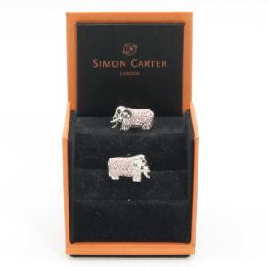 Gemelli Elefante Swarowski Simon Carter
